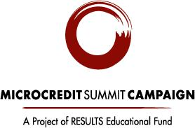 Microcredit Summit Campaign logo