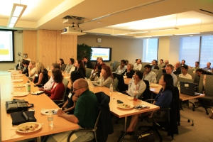 Emerging engagement models presentation well attended by micro finance experts